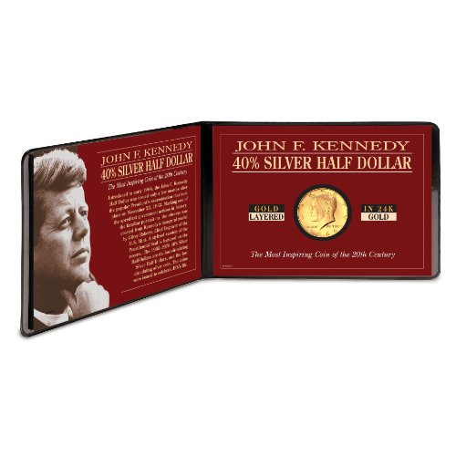 American Coin Treasures Silver JFK Half Dollar Coin Layer...