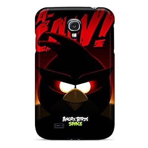 Galaxy Case - Tpu Case Protective For Galaxy S4- Angry Birds Space Super Red Bird