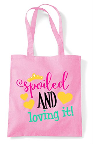 Light And It Bag Loving Spoiled Tote Pink Shopper fwqxccR7dY