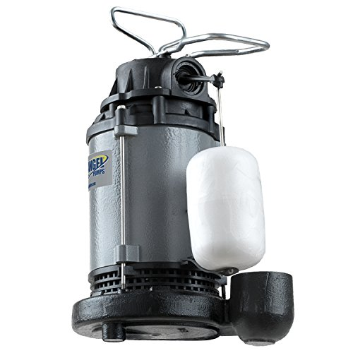 Blue Angel Pumps F50CIS 1/2 hp Heavy Duty series Submersible Cast Iron Sump Pump by Blue Angel Pumps