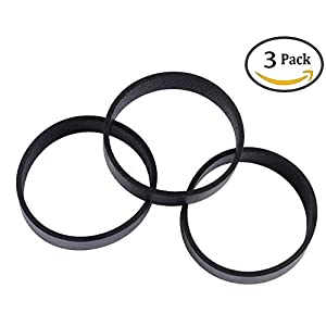 Podoy 301291 Vacuum Cleaner Belts for Kirby All Generation Series Models G3, G4, G5, GSix, G7, Ultimate G, Diamond, Sentria, and Avalir (Pack of 3)
