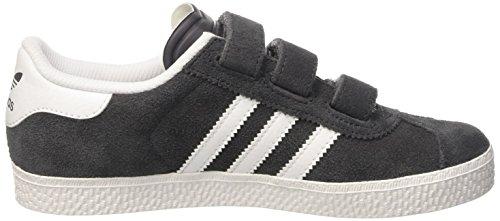 adidas Gazelle 2 Cf, Zapatillas para Niños Gris (Dgh Solid Grey /      Dgh Solid Grey /      Ftwr White)