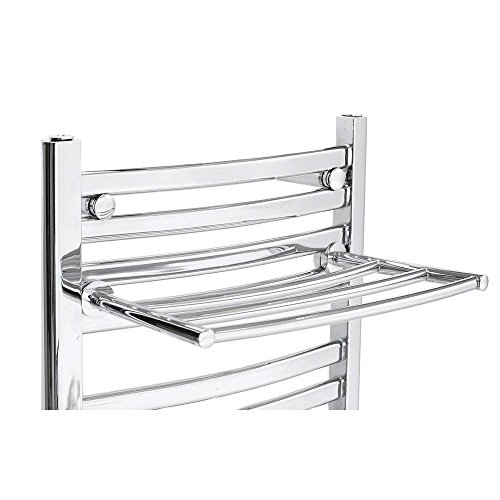 Chrome Curved Towel Warmer (Mr. Steam Tbrack-cu Pc Triple Bar Rack, Polished Chrome, Curved)