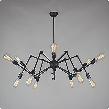Hm lustre araignée lustre magasin de vêtements rétro restaurant lustre salon de la maison 12