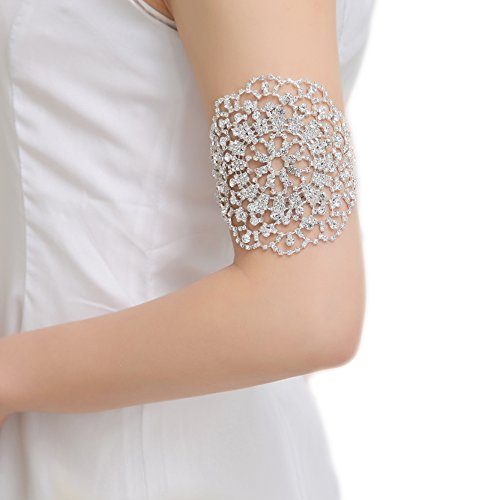 Bella-Vogue -Sunflower Arm Harness Slave Chain Cuff Armband Armlet Bracelet-NO.406