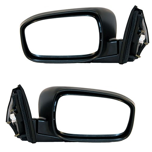Koolzap For 03-07 Accord Sedan Power Non-Heat Fold Rear View Mirror Left Right Side SET PAIR Accord Rear View Mirror
