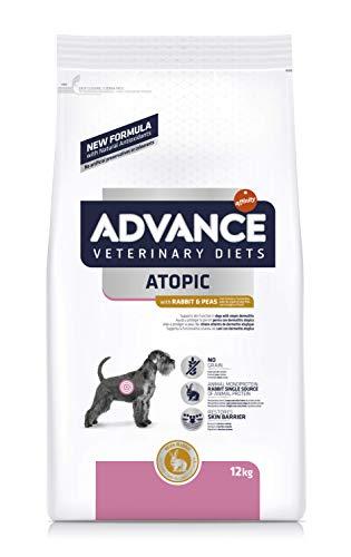 Advance Atopic Pienso para Perros con Conejo, Guisantes, 12 kg