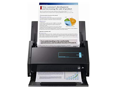 Fujitsu ScanSnap iX500 Document Scanner Black PA03656-B005