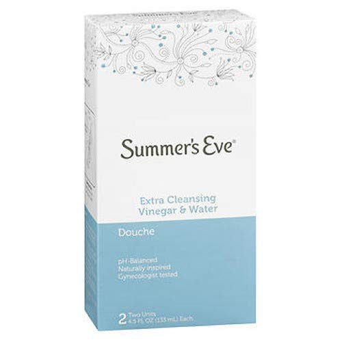 Summers Eve Douche Extra Cleansing Vinegar & Water 2 Count