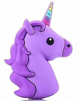 Unicornio Unicorn Emoji de Power Bank Cargador Batería ...