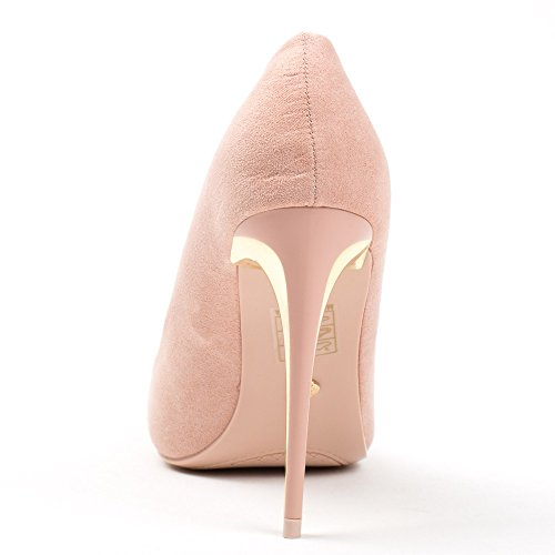 Ideal Shoes, Damen Pumps Rose