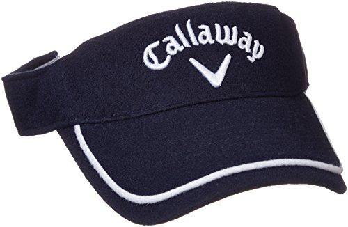 (キャロウェイ アパレル) Callaway Apparel 定番 ウール バイザー (サイズ調整可能) 帽子 ゴルフ / 247-7290901 [ レディース ]