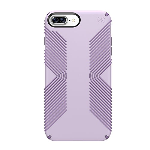Speck Products Presidio Grip Cell Phone Case for iPhone 7 Plus, 6S Plus and 6 Plus - WHISPER Purple/Lilac Purple (Speck Purple Case)