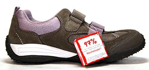 Superfit 8-00224-44 de deporte para niñas y zapatillas gris (voicánica Combi) 42 Gr