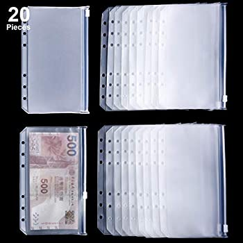Amazon.com: towashine 2pcs Transparente bolsillo de carpeta ...