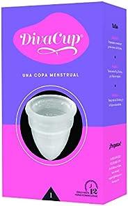 Divacup Copa Menstrual Reusable, Modelo 1, Pack of 1