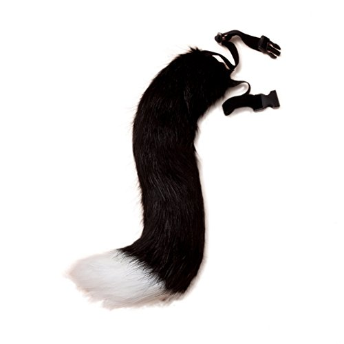 Costumes Saga Halloween Twilight (DingAng Teen/Adult Faux Fur Tail for Cosplay Halloween)