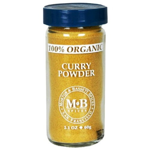 - Morton & Basset Spices, Organic Curry Powder, 2.1 Ounce (Pack of 3)