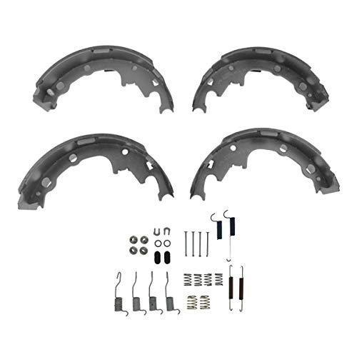 Rear 9 Inch Drum Brake Shoe Set w/Hardware Spring Kit Set for Chrysler Dodge