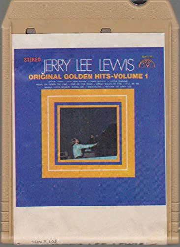 Jerry Lee Lewis: Original Golden Hits - Volume 1-17552 8 Track Tape