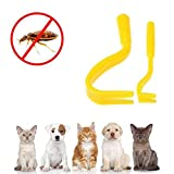 Tick Remover Set - Aolvo 2 Packs Tick Twister Tool Suitable for Pepole,Dogs and Cats