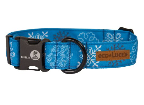 Dublin Dog Co Eco-Lucks Christmas Frostbite Collar, Small
