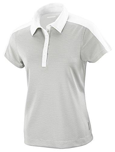 Ladies North End - North End Symmetry Ladiestm Coffee Polo Shirt, Crystl QRTZ 695, Large