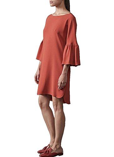 Antonelli Firenze Tulpenarm Kleid Margot coralle 852826 eQt50Hfbr8