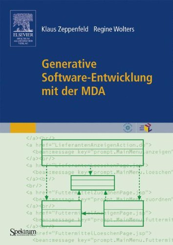 Generative Software-Entwicklung mit der MDA