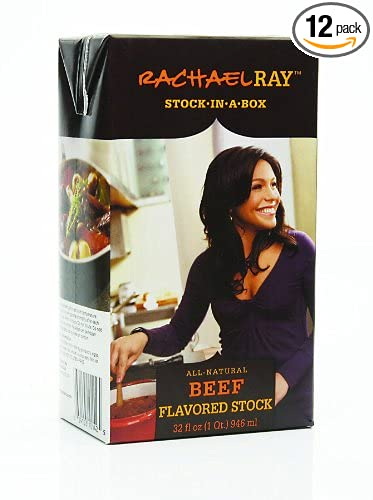 Amazon Com Rachael Ray Stock In A Box Rachael Ray Beef Flavored Stock 32 Ounce Pack Of12 Jerky And Dried Meats Grocery Gourmet Food