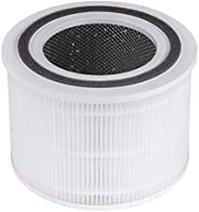LEVOIT Core 300 Air Purifier Replacement Filter, 3-in-1 Pre-Filter, True HEPA Filter, High-Efficiency Activate