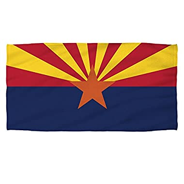 Arizona State Flag -- Beach Towel