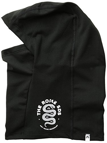 Rome Snowboards Men's Two Part Facemask, Black, One ()
