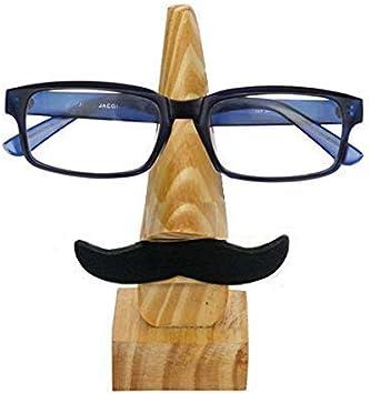 Village Handwork Spectacle Stand Black Moustache