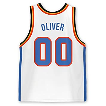 buy online cf27c 0822d Amazon.com : Personalized Basketball Jersey Stick-on Labels ...