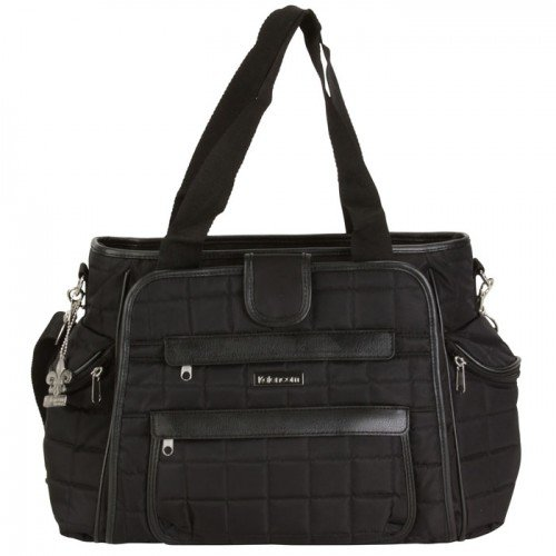 Kalencom Featherweight Quilted Nylon Nola Tote Quilt Black