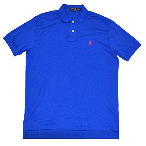 Interlock Polo (Polo Ralph Lauren Mens Classic Fit Interlock Polo Shirt (Medium , Pacific Royal))