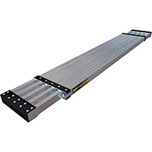 Metaltech M M-PEP7100AL M 13 Ft. Aluminum Telescoping Work Plank with 250 Lb. Load Capacity