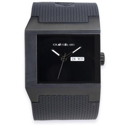 Quiksilver M089JR/ABLK - Reloj analógico de caballero de cuarzo con correa negra - sumergible