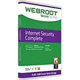 Webroot Internet Security Complete with Antivirus Protection 2018 | 5 Device | 1 Year Subscription | PC Download