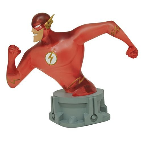SDCC 2017 Exclusive DC Justice League Animated Flash (Speed Force Variant) Resin Bust