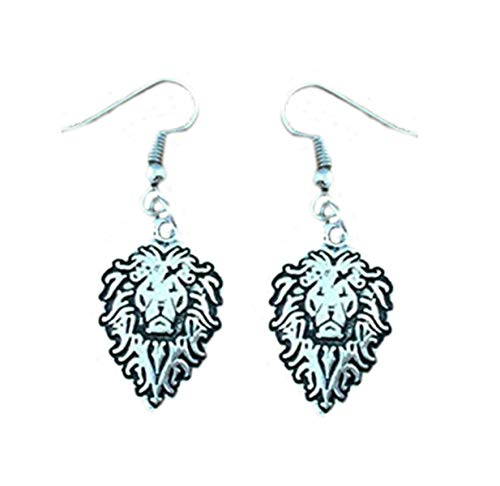 Outlander Wow Alliance Logo Earring Dangles In Gift Box From