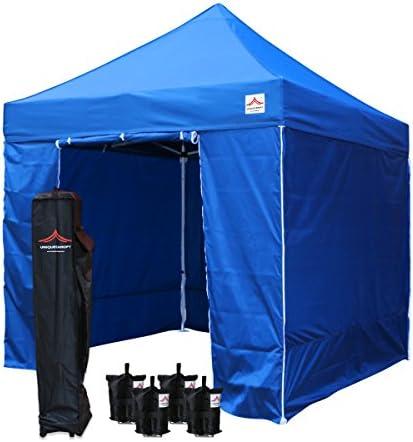 UNIQUECANOPY 8'x8' Ez Pop Up Canopy Tent Commercial Instant Shelter