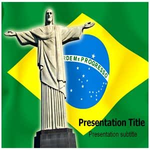 Brazil Powerpoint Templates - Powerpoint (PPT) Template on Brazil