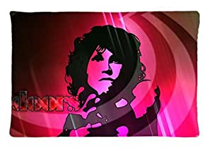 The Doors Jim Morrison ~ Durable Unique Design Pillow Case Standard Size 20X30 inches, Rectangle Pillowcase, New Fashion Image One Side, Perfect Engood Custom Pillow case