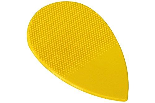 Herdim Nylon Pick, Small Teardrop Style, Thin Yellow, 12 Pack (Guitar Herdim Picks)