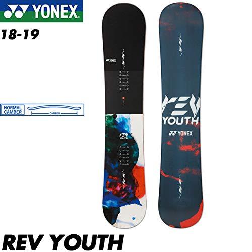 予約商品 18-19 ヨネックス レブ レヴ ユース YONEX REV YOUTH スノーボード スノボ 板 ジュニア キッズ 子供用 2019ノーマルキャンバー  132cm