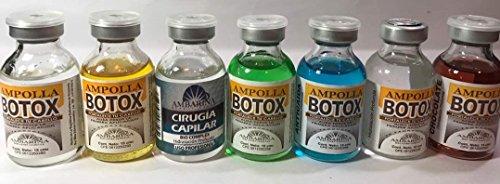 Ampollas Capilares Ambarinas