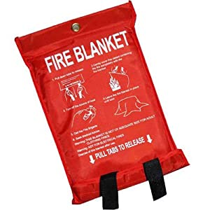 Quick Release Home Extinguisher Fibreglass Fire Blanket
