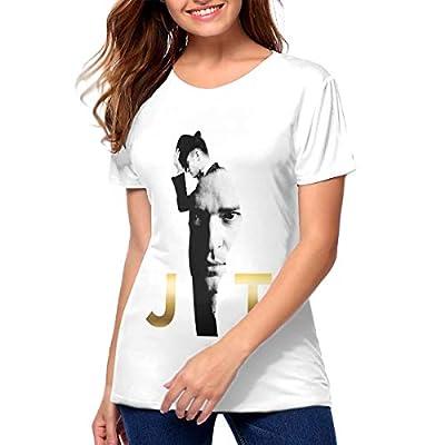 ROWANJEFFERS Justin Timberlake Womens T Shirts Women Tee Shirt White